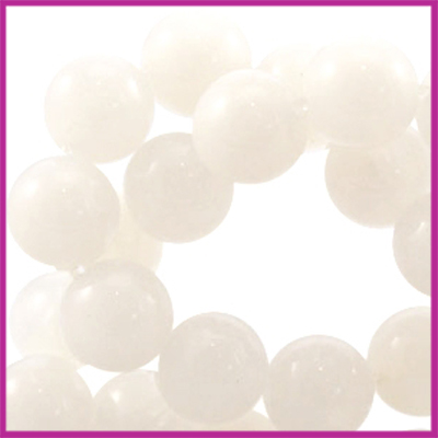 Perla beads rond ø6mm Beige