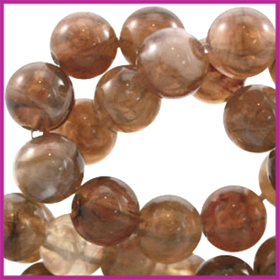 Perla beads rond ø6mm Topaz