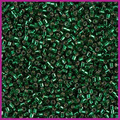Miyuki Delica 11/0 Silverlined Emerald