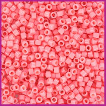 Miyuki Delica 11/0 Duracoat Opaque Dyed Guava