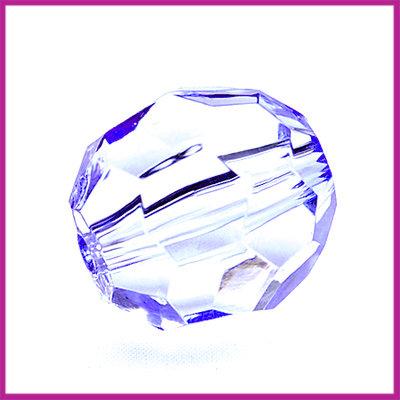 Kunststof facetkraal middel lila