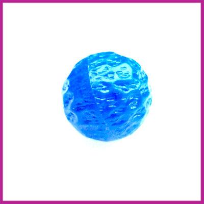 Kunststofkraal bewerkt blauw