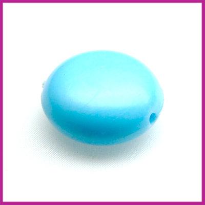 Kunststofkraal mentos groot licht blauw