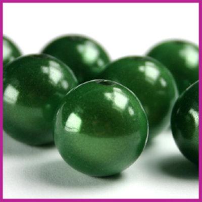 Kunststofkraal miracle ø11mm donker groen