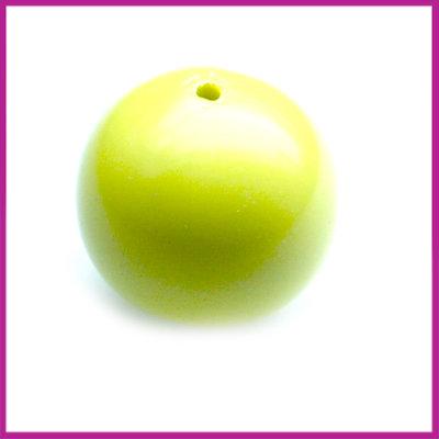 Kunststofkraal bal lime groen