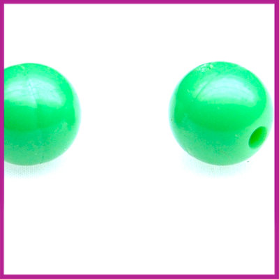 Kunststofkraal rond ø10mm appel groen