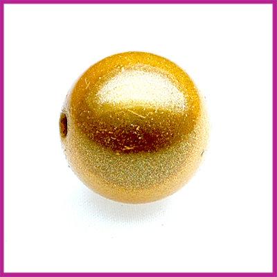 Kunststofkraal geel ø13mm miracle