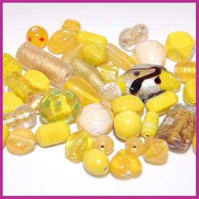 Glasmix Fancy geel