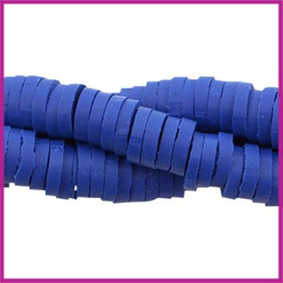 Katsuki kralen disc rond 4mm cobalt blue