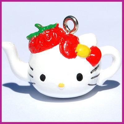 Hello Kitty theepotje rood