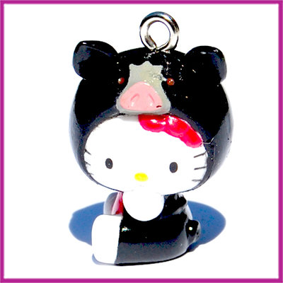 Hello Kitty zwart zwijn