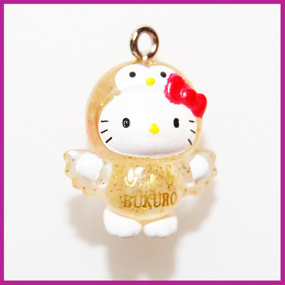 Hello Kitty glitter uiltje
