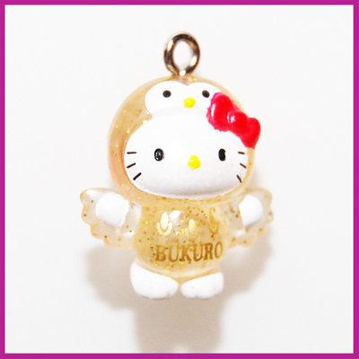 Hello Kitty glitter uiltje