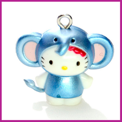 Hello Kitty blauwe olifant