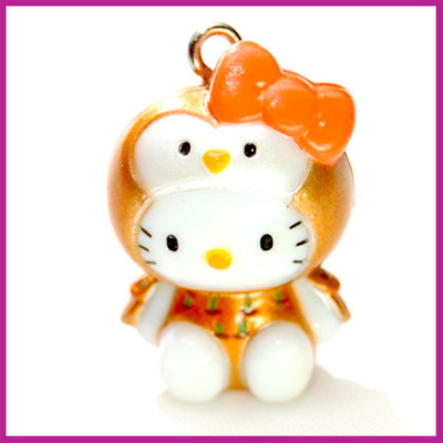 Hello Kitty vreemde vogel oranje
