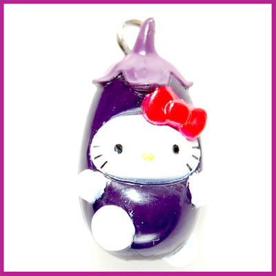 Hello Kitty aubergine