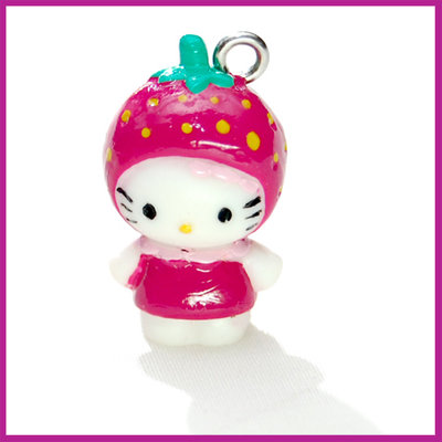 Hello Kitty roze aardbei