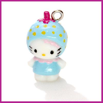 Hello Kitty blauwe aardbei