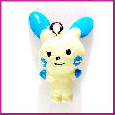 Pokemon figuurtje blauw