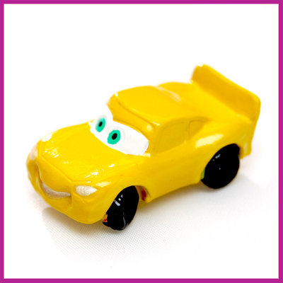 Disney Cars geel
