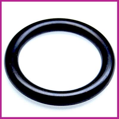 Kunststof ring zwart