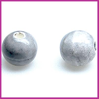Keramiek bal grijs Ø11 mm