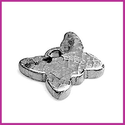 Keramiek hanger vlinder luster olie antraciet