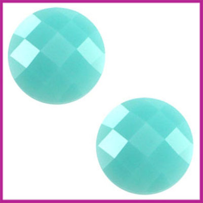 Basic cabochon plaksteen acryl 10mm erinite green opal