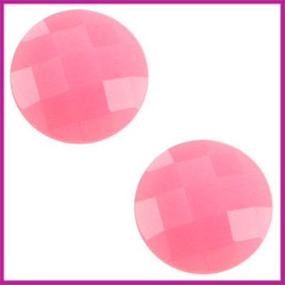 Basic cabochon plaksteen acryl 10mm pink opal