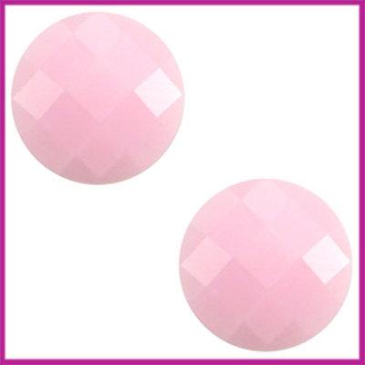 Basic cabochon plaksteen acryl 10mm light pink