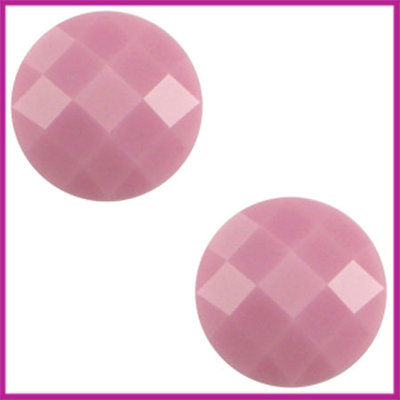 Basic cabochon plaksteen acryl 10mm pale pink