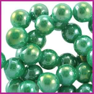 Glaskraal Diamond Coated Ø6mm Gumdrop Green