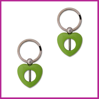 Keychain lime groen