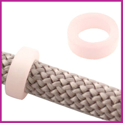 Dreamz Polaris schuiver matt 16x6mm Soft Pink