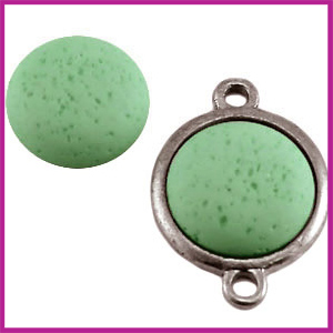 Polaris cabuchon 20mm vintage gala sweet Chrysolite green