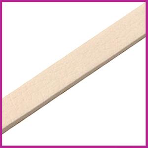 Lovi DQ Florentijns leer plat 10mm Off white ca. 21cm