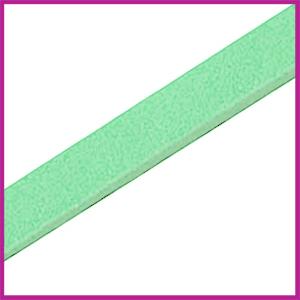Lovi DQ Florentijns leer plat 10mm Spearmint green ca. 21cm