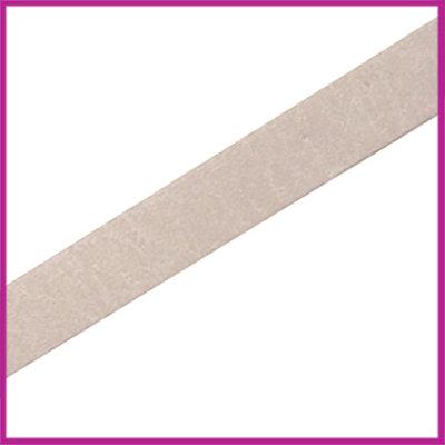 Lovi DQ leer plat 10mm Silk taupe