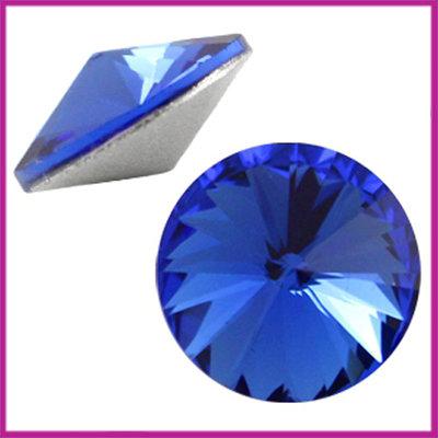 LC Rivoli puntsteen 1122 - 12mm Sapphire