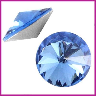 LC Rivoli puntsteen 1122 - 12mm Sapphire blue