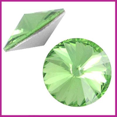 LC Rivoli puntsteen 1122 - 12mm Peridot green