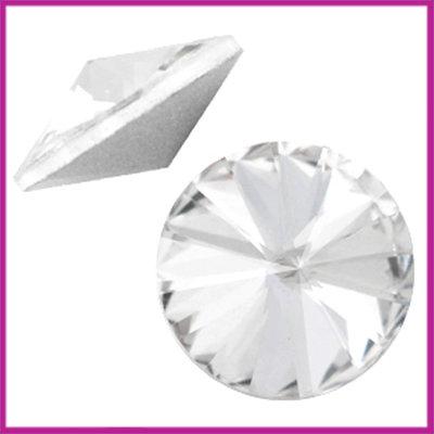 LC Rivoli puntsteen 1122 - 12mm Crystal