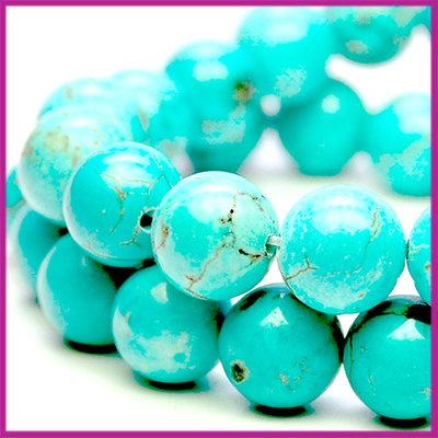 Howelite Turquoise Ø8 mm
