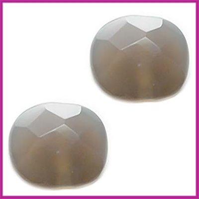 Natuursteen kraal facet geslepen grey opal