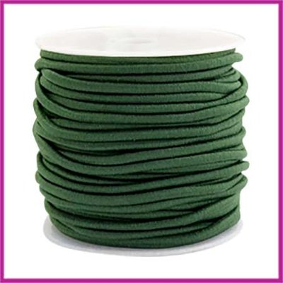 Gekleurd elastisch draad Ø2,5mm Dark green