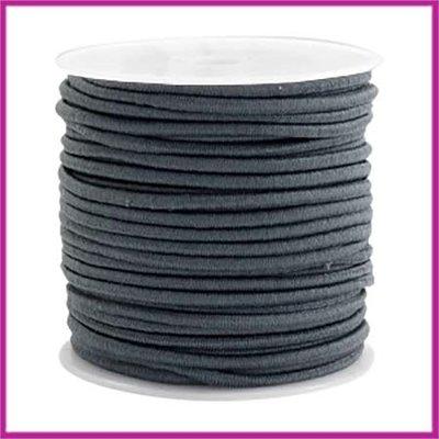 Gekleurd elastisch draad Ø2,5mm Dark grey