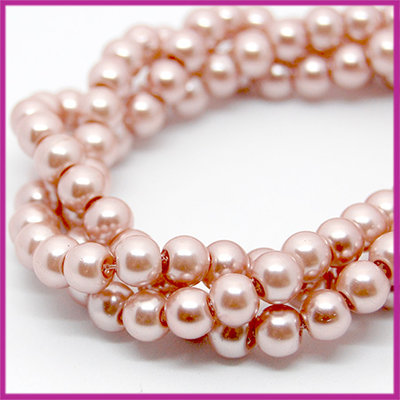 Glasparel Ø6mm antique pink