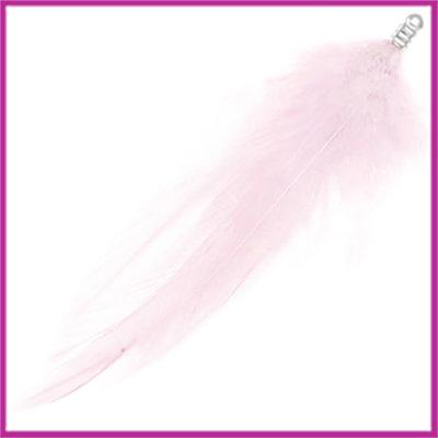 Veertje pluche ca. 8cm icing pink