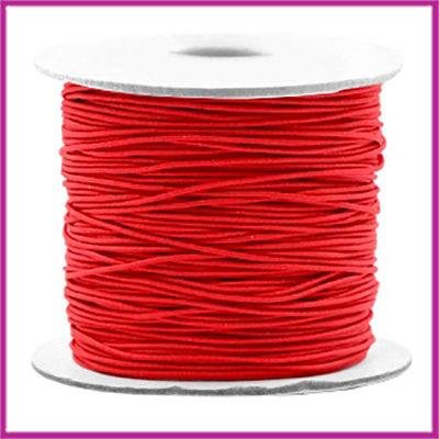 Gekleurd elastisch draad Ø0,8mm per meter Red