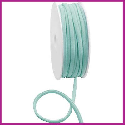Ibiza stitched elastisch lint per 10cm Vintage green